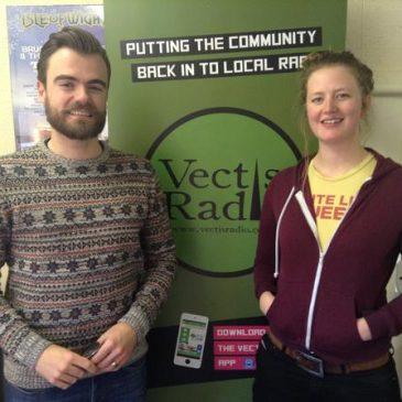 Radio interview with Vectis Radio